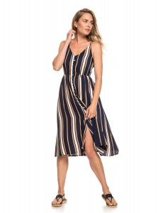 "ROXY  - Sukienka Damska ""Sunset Beauty - Strappy Midi Dress for Women"""