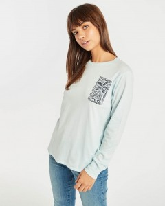 "BILLABONG - Longsleeve Damski ""Faithful Tee"""