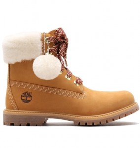 "TIMBERLAND - Buty Damskie ""Premium 6 In Shearling Boot"" A21V7"