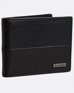 "BILLABONG  - Portfel ""Fifty50 ID Leather Wallet""  N5LW04"