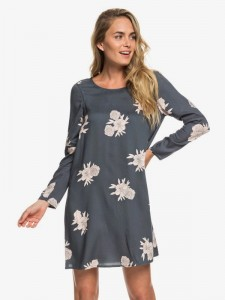 "ROXY  - Sukienka Damska ""Seaside Sesne - Long Sleeve Dress"" ERJWD03311"