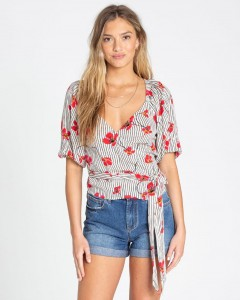 "BILLABONG - Koszula Damska ""New Lust Wrap Blouse Top"""