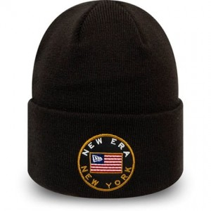 "NEW ERA  - Czapka Męska ""Flagged Cuff Knit"""