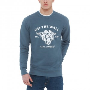 "VANS - Bluza Męska ""Old Skool Cougar Crew Fleece"""